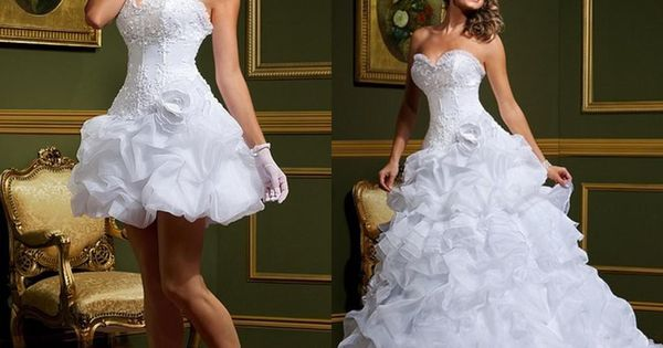 Cheap Sexy Vestido De Noiva White Ball Gown Wedding