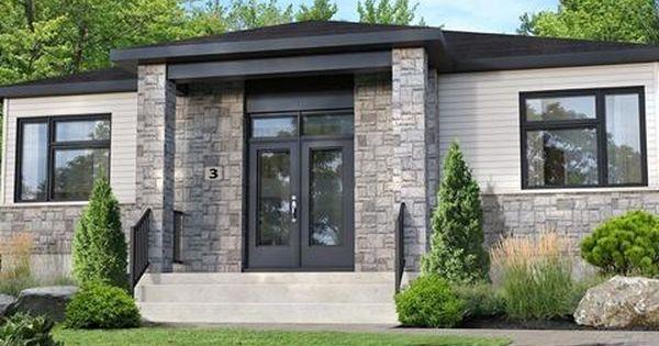 Maison A Vendre A Buckingham Gatineau Outaouais 225 000 Tps Tvq Bungalow Design House Exterior House Styles