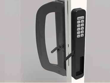2 way keyless sliding patio door lock