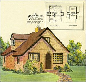 More Vintage House Plans Cottage Style House Plans Cottage House Plans House Plans