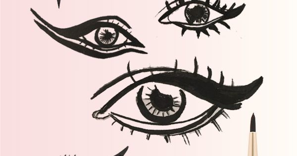 Calligraphy Eyeliner To Perfect Your Cat Eye More