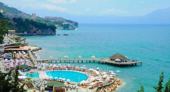 Vlora Beach Albania In 2019 Albania Beach Albania