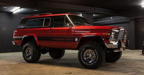 1979 Jeep Cherokee Chief Jeep Wagoneer Jeep Cherokee Classic Jeeps
