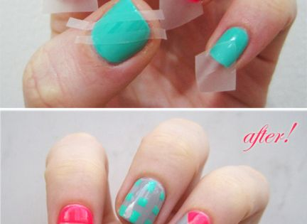 DIY: Nail Art - nailart nailpolish
