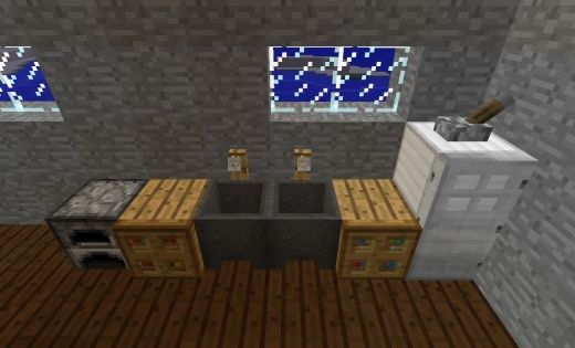 How to decorate your house in minecraft house sinks and - Cool minecraft decorations ...