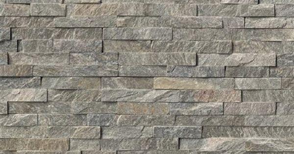 Sage Green Quot L Quot Corner Split Face 6x24 Natural Stone Ledger Veneer Panels For Walls Pinterest
