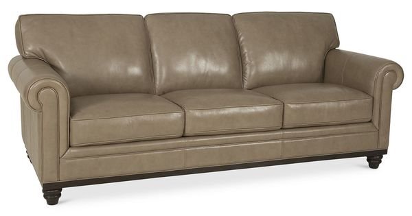 Martha Stewart Collection Bradyn Leather Sofa, Created For