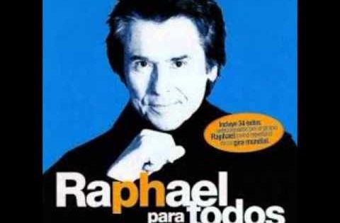 Raphael Tu Siempre Estas En Mi Pensamiento Raphael Cantante Cantantes Españoles Canciones