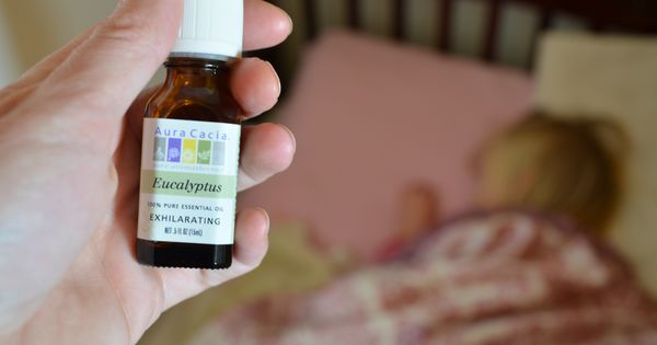 How to get people to stop coughing at night and sleep...Eucalyptus oil...I