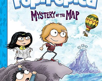 Poptropica Book 1 Mystery Of The Map By Jack Chabert 1419720678