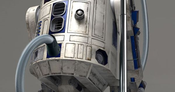 "R2D2 Re-Invented None of the employees at ""Tad's Creative Thinking Agency"" thought"