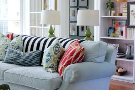 Family room. I want those throw pillows