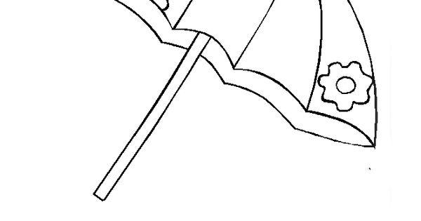 Dibujos Para Colorear Letra Q: Letra Q Mayúscula, Q Minúscula. Quitasol.