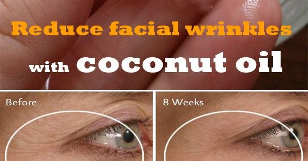 how to use coconut oil on face for wrinkles