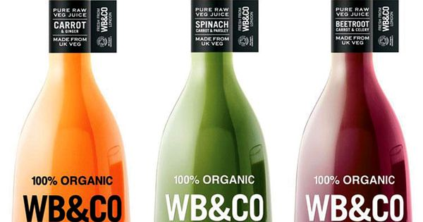 WB&Co Veg Juice packaging design | by Seed