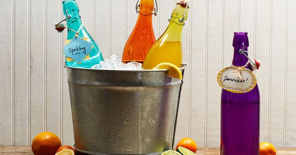 Fun Multicolor Bottles...