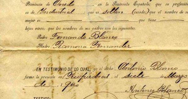 Declaraci n de nacionalidad 1900 puerto rico pinterest puerto ricans and history - Nacionalidad de puerto rico en ingles ...