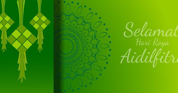 Selamat Hari Raya Aidilfitri Celebration Abstract Background Wallpaper Ramadhan Abstract Backgrounds Abstract