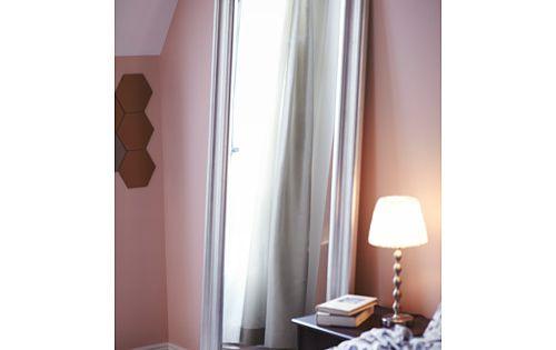 rismon abat jour bleu vert blanc miroir et ikea. Black Bedroom Furniture Sets. Home Design Ideas