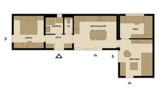 3 modelos de planos de casas peque as de madera modernas - Casas prefabricadas por modulos ...