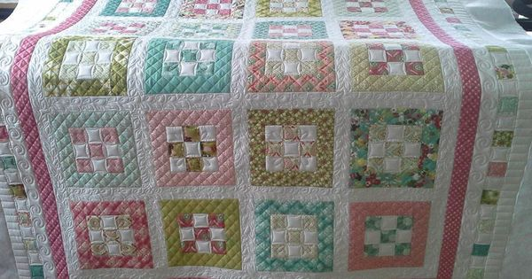 Free Quilt Pattern From Moda Bake Shop 2 Quot Nine Patch