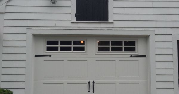 Haas Model 660 Steel Carriage House Style Garage Door In
