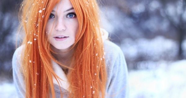 #orangehair hair fashion redhair