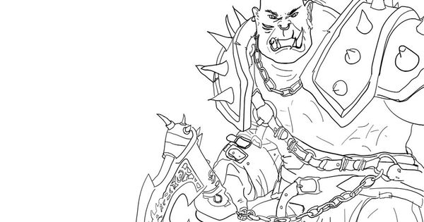 wow free coloring pages-#12