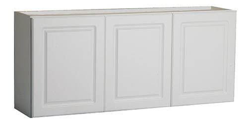 54 White Prefinished Laminate Laundry Wall Cabinet At Menards