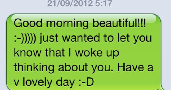 CUTE GOOD MORNING TEXT MESSAGES FOR HER TUMBLR ~ FindMemes ...