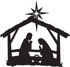 Reason For The Season Nativity Nativity Silhouette Nativity