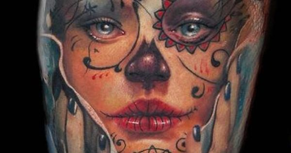 ink- amazing Awesome portrait tattoo!