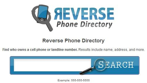 free cell phone number search reverse