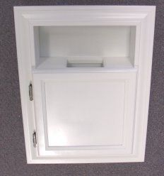Mpu 10 Recessed In The Wall Mounted Trash Can