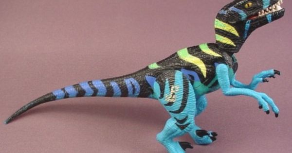 Jurassic Park 3 Velociraptor Toy Jurassic Park Raptor A...