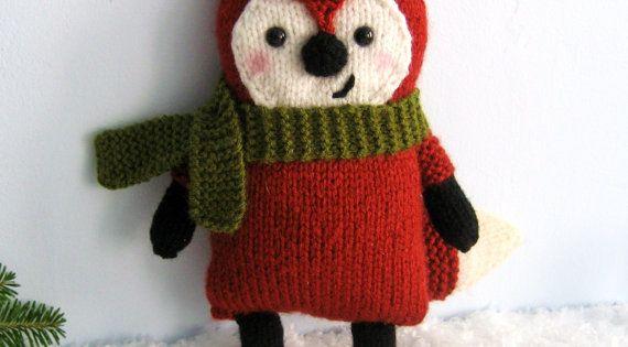 Knit Little Fox Amigurumi Pattern - new pattern I just ...