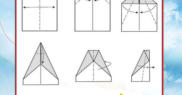 Free Printable Glider Paper Airplane Tutorial Kids