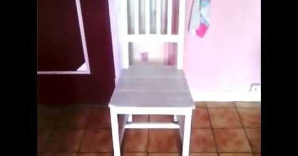 Renover Repeindre Une Chaise Ikea Diy Tuto Chaise Ikea Ikea Chaise