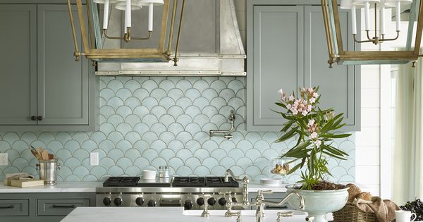 whether you u2019re designing your kitchen from scratch or Mermaid Bathroom Tile Look Mermaid Fish Scale Tile