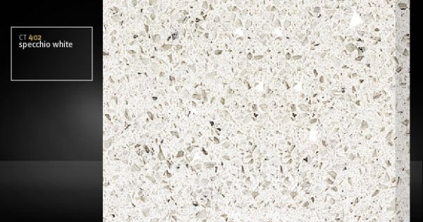 Hanstone countertop ct402 specchio white kitchen for Specchio white hanstone