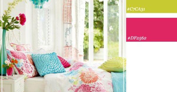 bright color schemes bright bedroom color scheme color