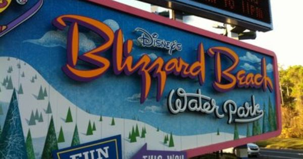 Disney's Blizzard Beach. So excited for this Spring Break!!! Wooo!!