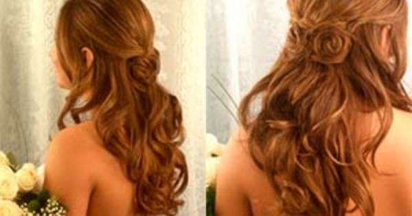 Bridesmaid Hairstyle. Lovely!