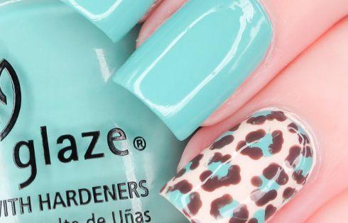 @ the Nail Polish Project nail nails nailart pretty blue nail polish