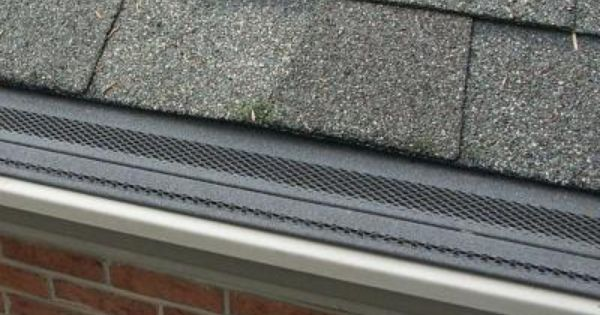 Amerimax Home Products Gutter Shingle Gutter Guard 85246 The Home Depot Gutter Guard Gutter Gutters