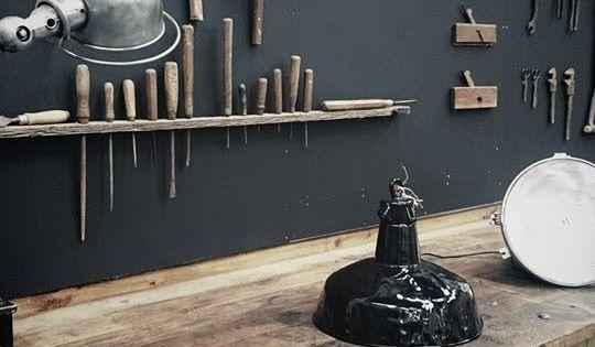 Studio brocante d co industrielle meuble de m tier meuble d 39 atelier - Brocante mobilier industriel ...