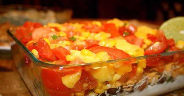 Healthy nachos, Layer dip and Nachos on Pinterest