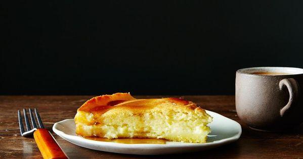New England Spider Cake   Recept