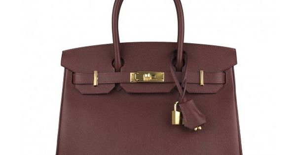Hermes Handbag Birkin 30 Epsom Red H Gold Hardware 2016.
