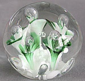 Sale Vintage 70s Art Glass Vases In Olive Green And Orange By Viking Of Italy Art Glass Vase Glass Art Glass Vase